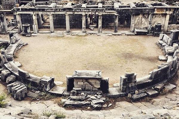The ancient city is in Turkey's Aydın city, in Söke Province