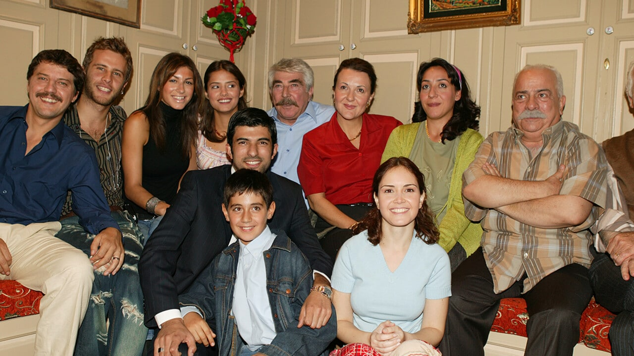 The cast of The Stranger Groom (Yabancı Damat) series (2004-2007)