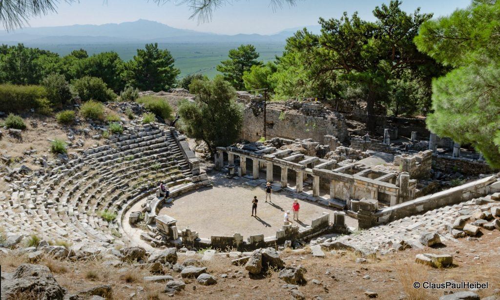 Theatre of Priene, Ancient city of Ionia