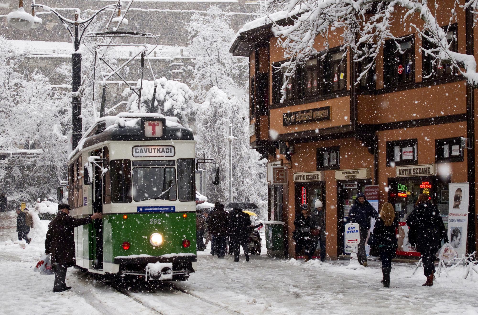 Winter in Bursa is something else