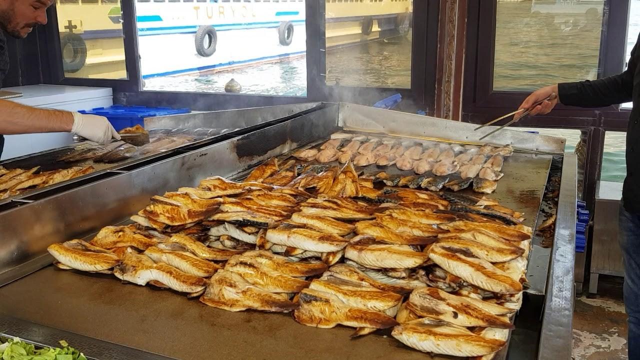 Balık ekmek (or fresh fish sandwich) has to be your must while in Turkey