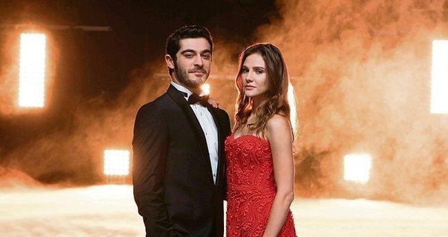 Burak Deniz and Alina Boz meet in Maraşlı Turkish TV Drama