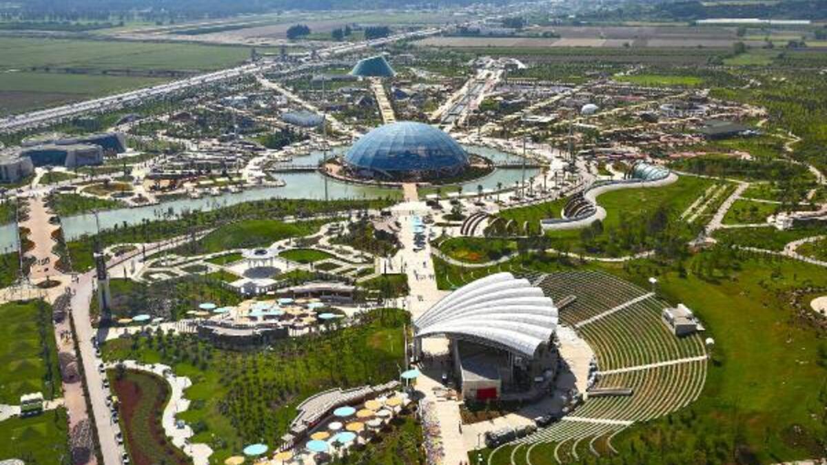 EXPO Antalya, the 121-acre fairground, turned into an international film hub
