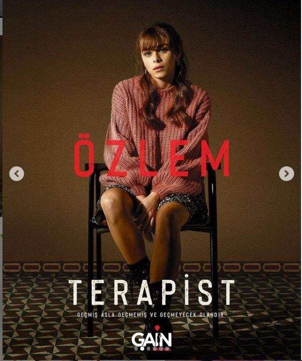 Ilayda Alisan as Özlem in Therapist mini internet series