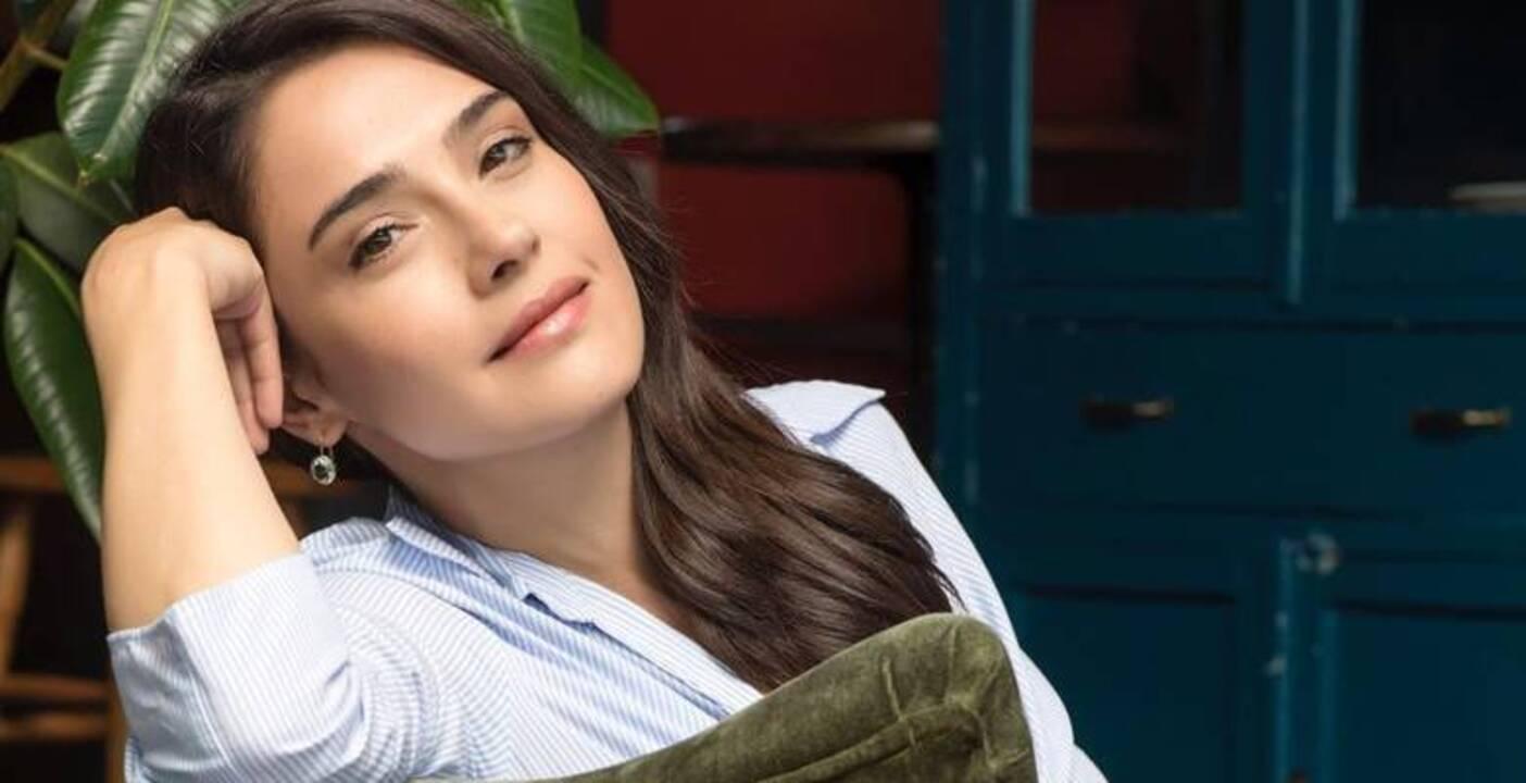 The charming and accomplished Turkish actress Funda Eryiğit