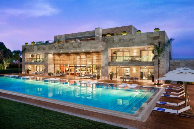 This is the villa in Antalya where Jason Statham stays