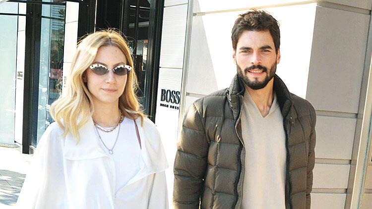 Akın Akınözü and his girlfriend Sandra Pestemalciyan