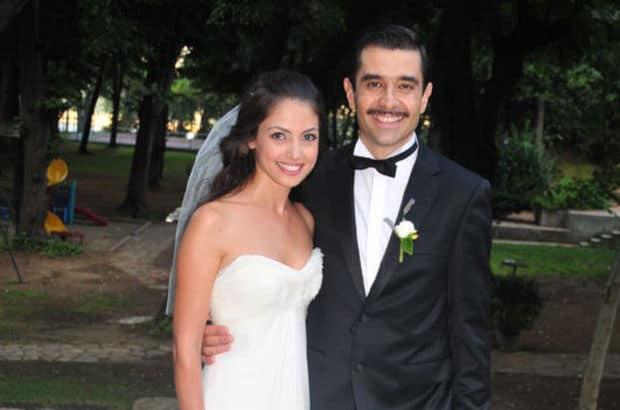 Cansel Elçin and his ex-wife Pınar Apaydın