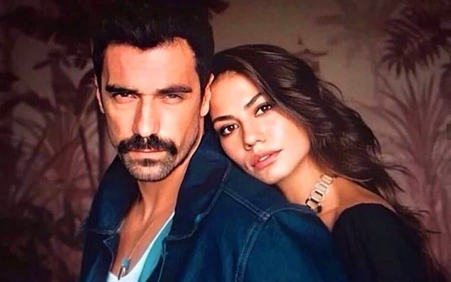 Ibrahim Celikkol and Demet Ozdemir became a great TV couple with their role in Doğduğun Ev Kaderindir (My Home My Destiny)