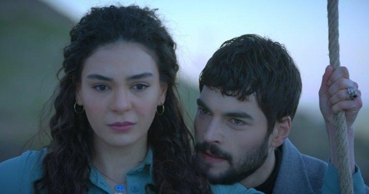 Reyyan and Miran characters of Hercai Turkish TV series
