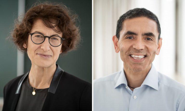 Prof. Dr. Uğur Şahin and Özlem Türeci are on the Cover of World's Leading Time Magazine