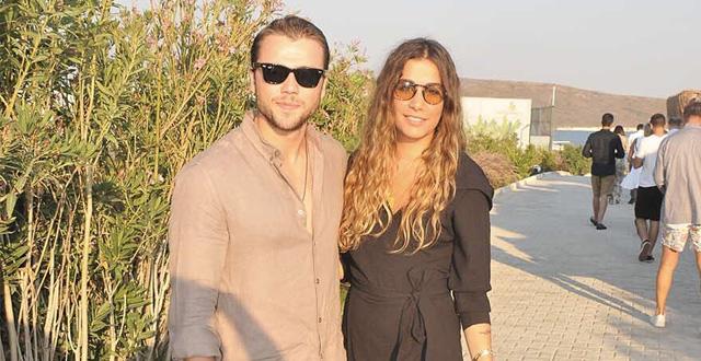 Tolga Sarıtaş and his lover Zeynep Mayruk