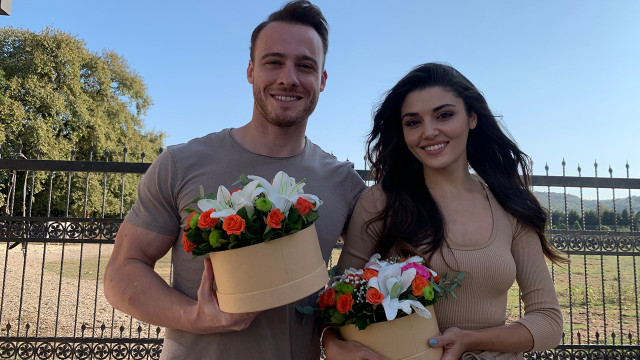 Kerem Bürsin and Hande Erçel's harmony raised the popularity of the series even more
