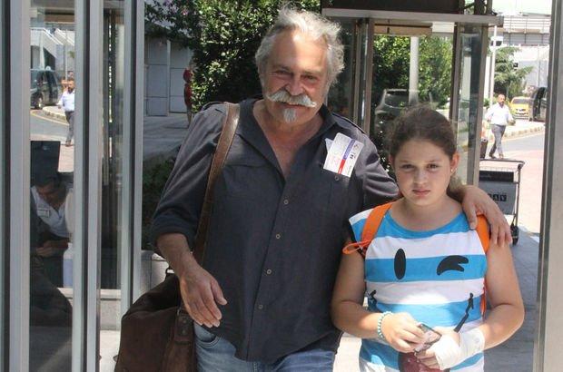 Haluk Bilginer and his daughter Nazlı Bilginer to whom the actor dedicated his Emmy Award