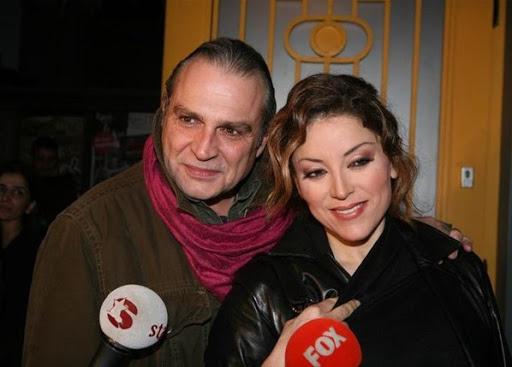 Haluk Bilginer and his second wife Aşkın Nur Yengi