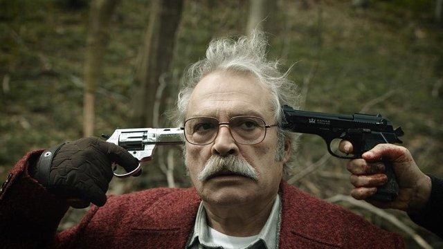 Haluk Bilginer as Agah in Şahsiyet (Persona), an 8-episode-long mini internet series