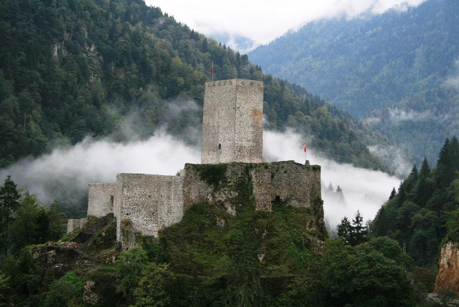 Incredible landscape od Zil Castle