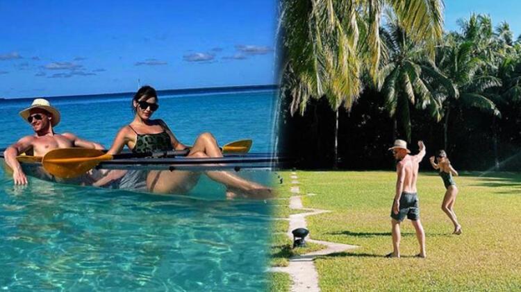 Kerem Bürsin and Hande Erçel made a dream vacation in the Republic of MaldivesKerem Bürsin and Hande Erçel made a dream vacation in the Republic of Maldives