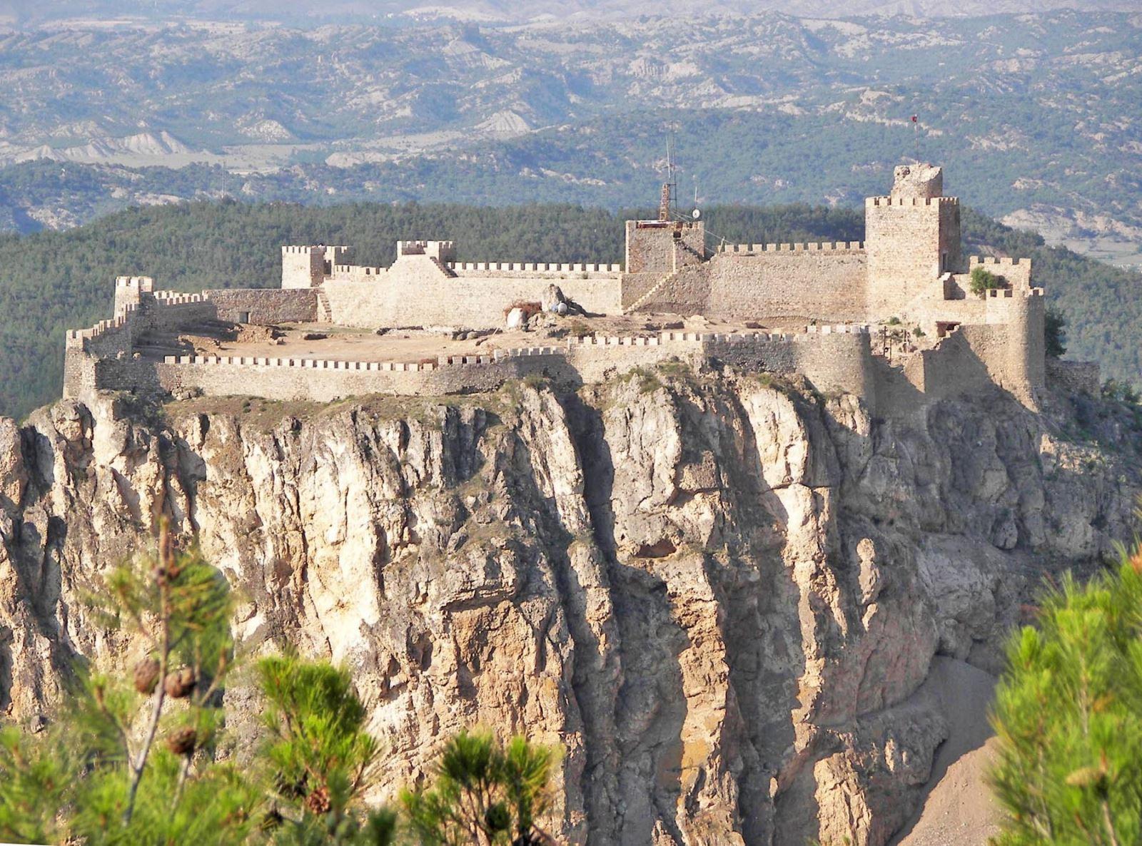 The magnificent Boyabat Castle