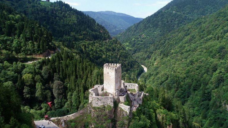 Zilkale Castle: The Greatest Castle in Turkey's Rize Province