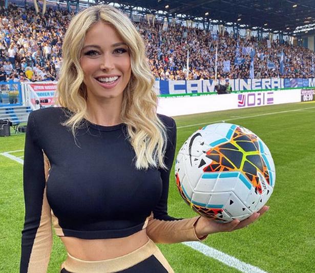 30-year-old Italian sports announcer Diletta Leotta