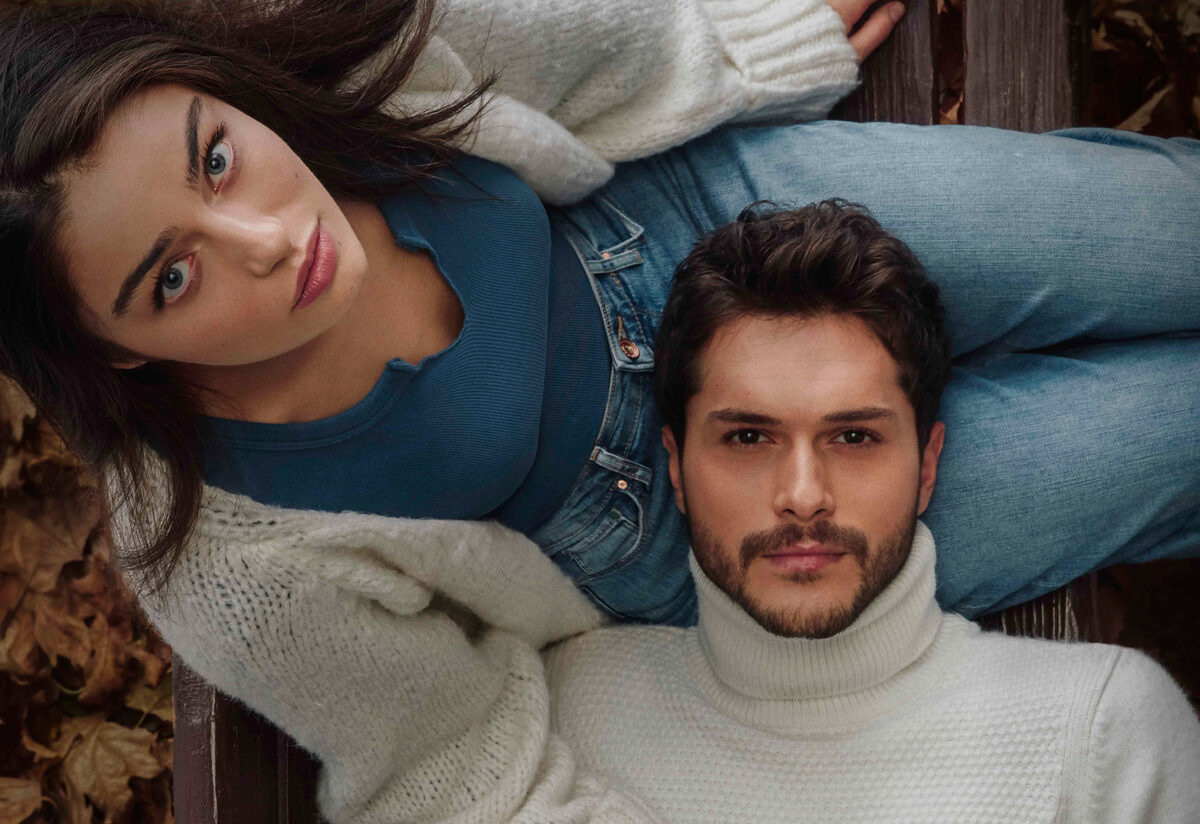 Ayça Ayşin Turan and Alperen Duymaz in Zemheri Turkish TV drama