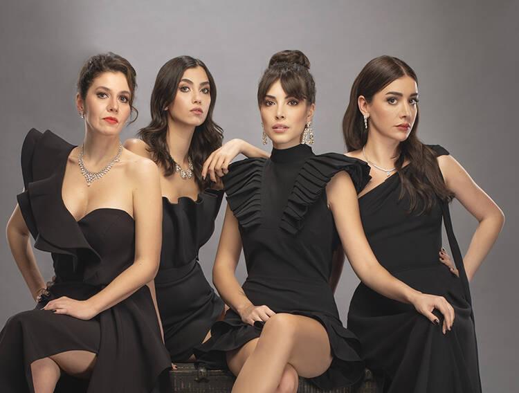 Deniz Baysal Yurtçu as Ela in Hizmetçiler (Maids) Turkish TV series
