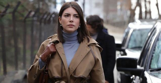 Deniz Baysal Yurtçu as a special agent Zehra in Teşkilat (The Shadow Team, or aka Ankara)