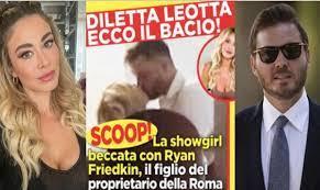 Diletta Leotta cheated on Can Yaman with Ryan Friedkin