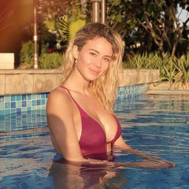Diletta Leotta is a stunning blonde of Italy