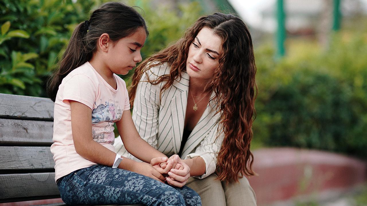The actress acted as an idealist teacher in 11-episode-long TV series Çocukluk (Childhood) in 2020