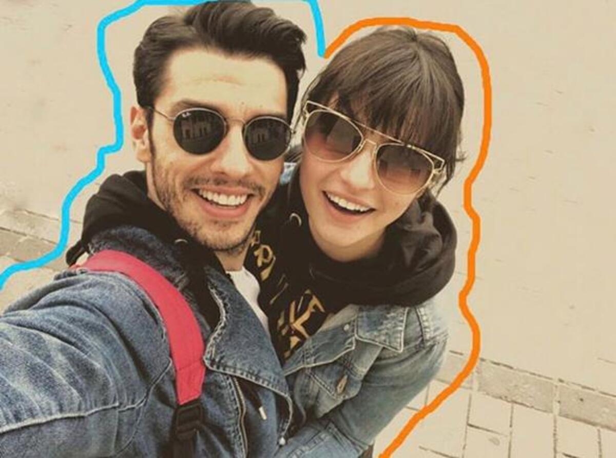 The actress had a love affair with Turkish actor Aras Aydın