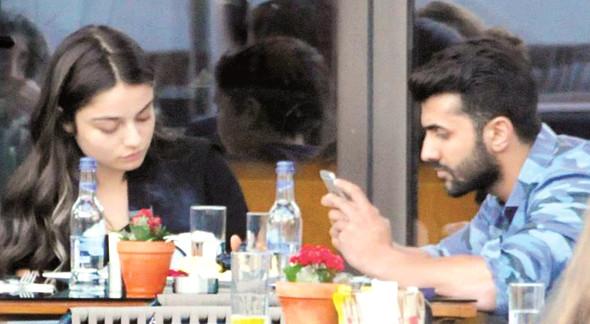 The actress had crush on Ümit Oruç, a Turkish businessman