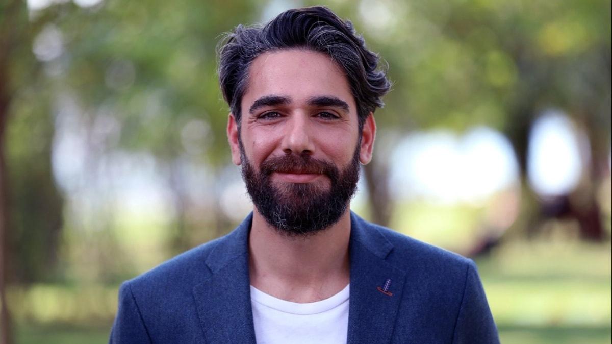 The handsome Turkish actor Kadir Doğulu