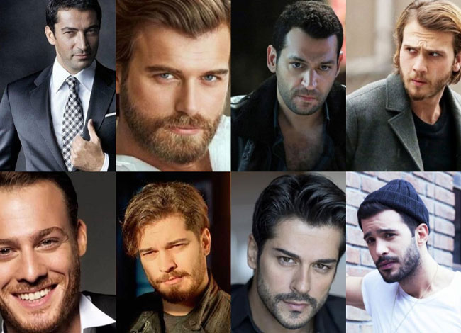 The most handsome Turkish actors