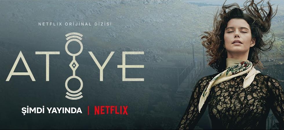 Beren Saat starred as Atiye in Atiye (The Gift), a world-famous Turkish original series on Netflix