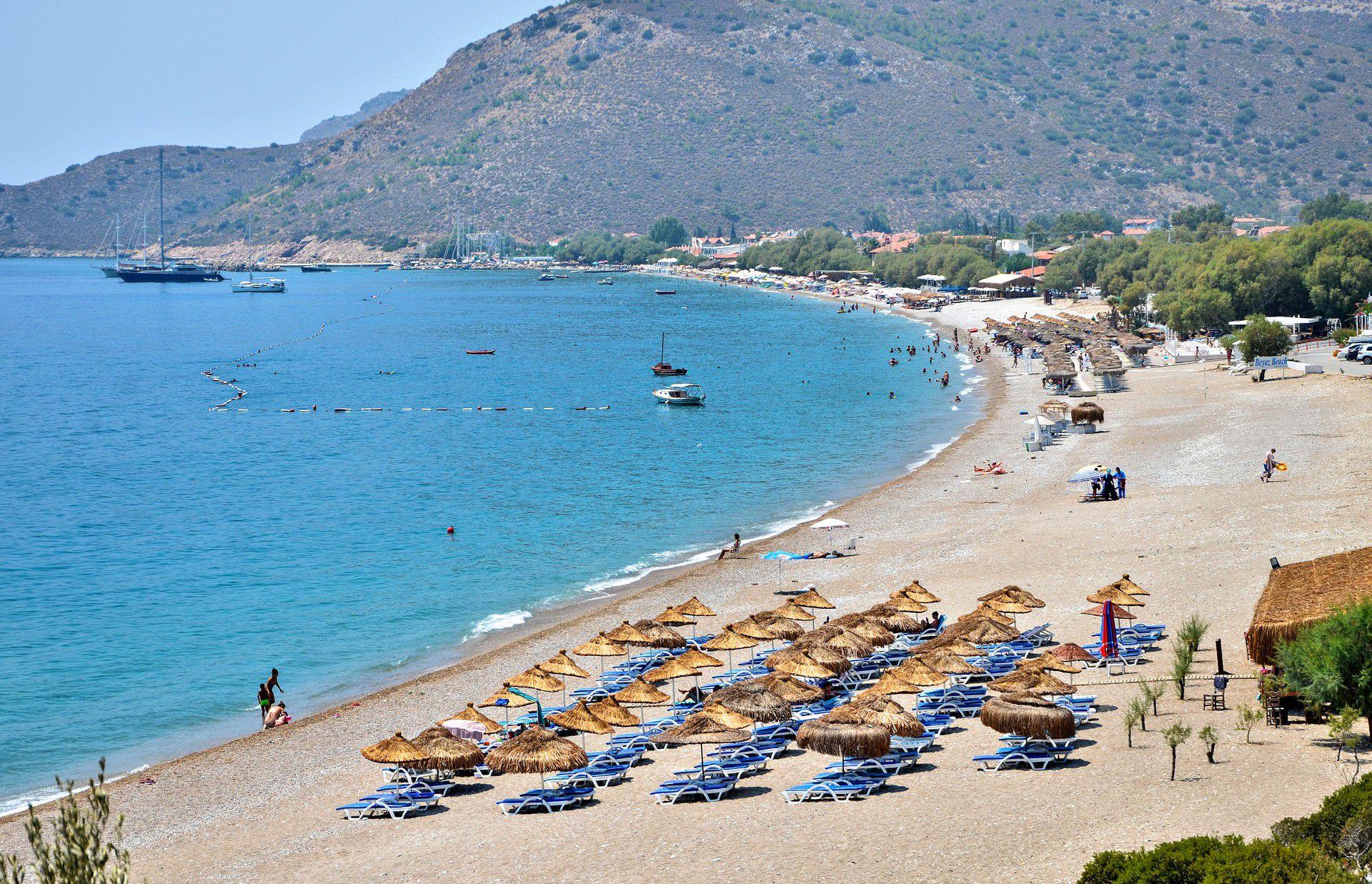 Datça's Palamutbükü Beach is one of the best Turkish beaches
