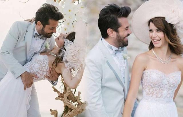 Kenan Doğulu and Beren Saat married in 2014