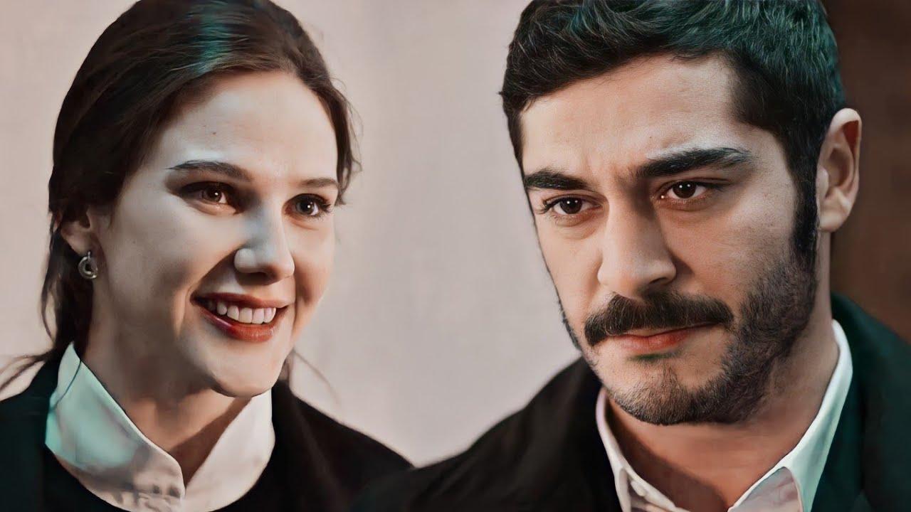 Mahur (Alina Boz) and Celal (Burak Deniz)