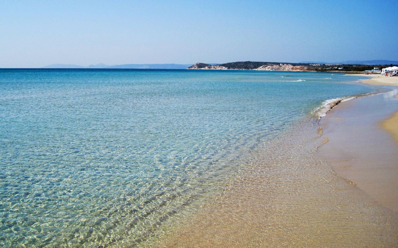 The mesmerizing Altın Kum Plajı (Golden Sand Beach)
