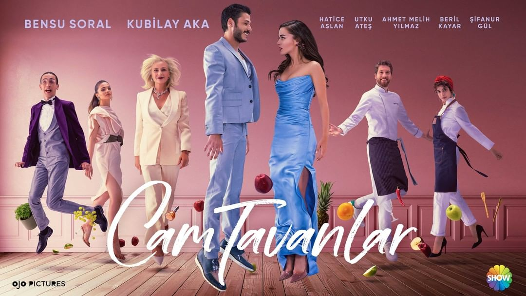 Turkish TV drama Cam Tavanlar (Glass Ceiling) is an exciting summer series with its unusual narration