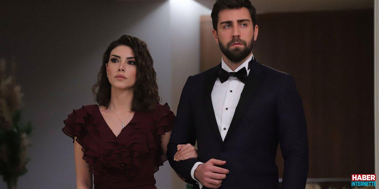 Zehra (Deniz Baysal) and Serdar (Çağlar Ertuğrul)