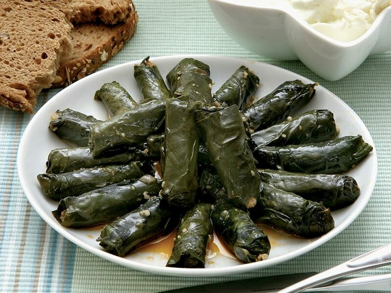 Cooking etli pazı sarması (stuffed chard leaves) is not easy but totally worth it