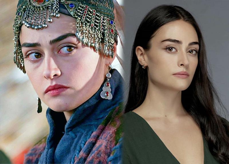Esra Bilgiç gave life to the character of Ertuğrul Gazi's wife Halime Hatun in this series