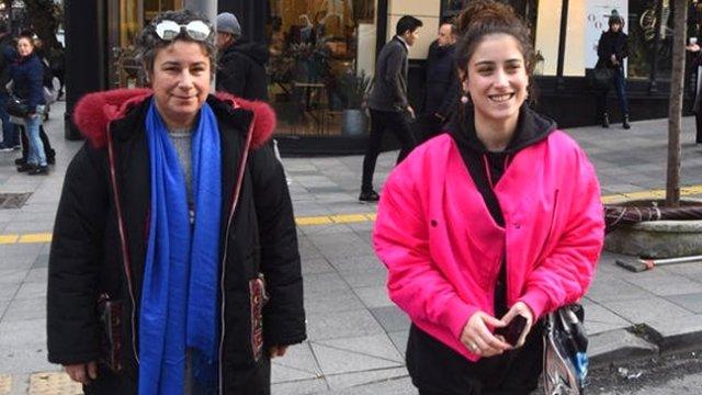 Hazal Kaya and her mother Ayşegül Kaya
