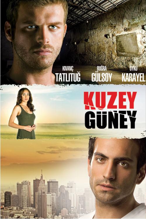 Kuzey Güney (North-South), with Kıvanç Tatlıtuğ as the leading role, joined among the best Turkish TV dramas
