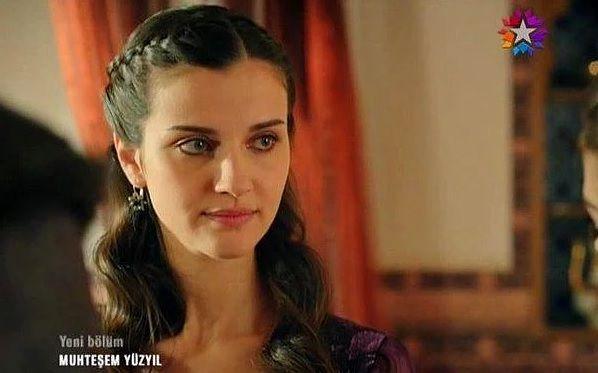 The actress has starred in Muhteşem Yüzyıl (Magnificent Century)