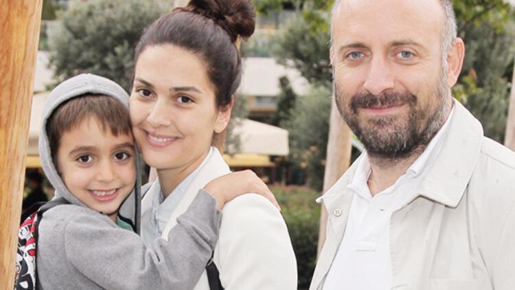 The beautiful Turkish actress Bergüzar Korel and her beautiful family