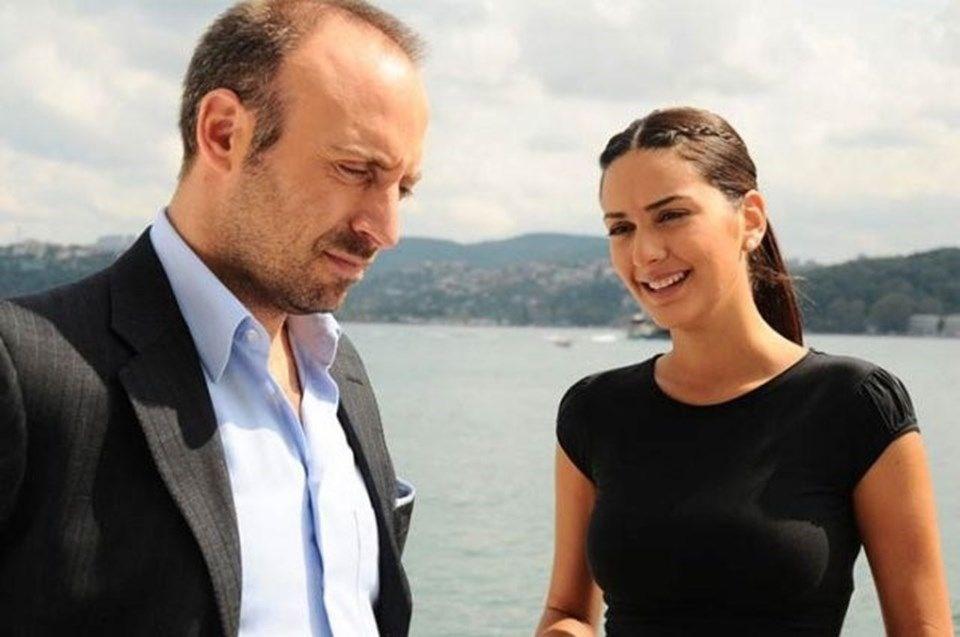 The couple first met in Binbir Gece (1001 Nights) Turkish TV drama