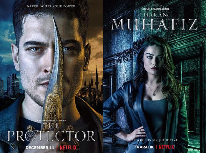 Turkey's first Netflix original Hakan Muhafız (The Protector)